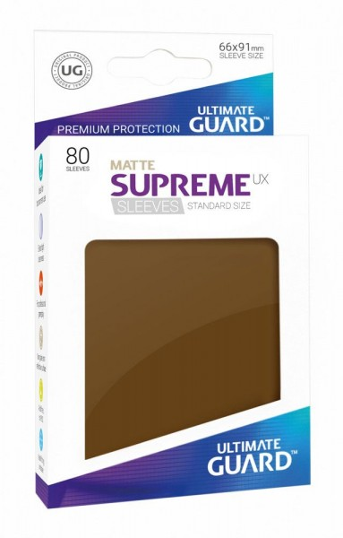 Ultimate Guard Supreme UX Sleeves Standardgröße Matt 80