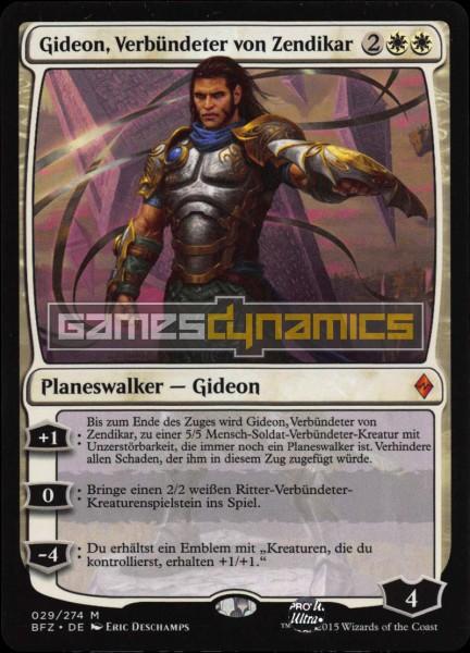 Gideon, Verbündeter von Zendikar