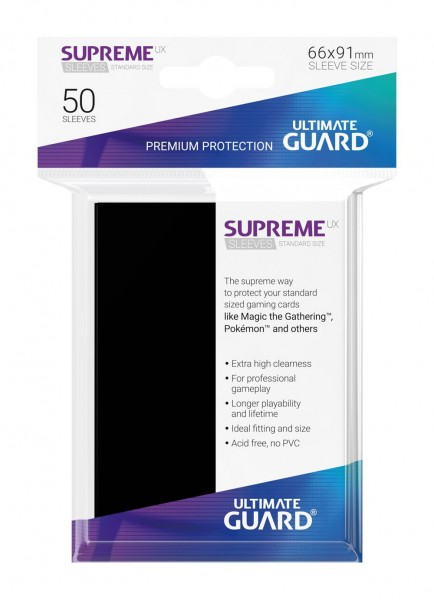 Ultimate Guard Supreme UX Sleeves Standardgröße 50