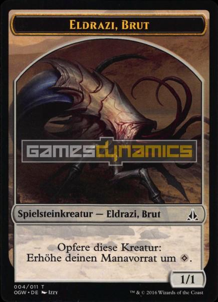 Spielsteinkreatur - Eldrazi, Brut (Version 4)