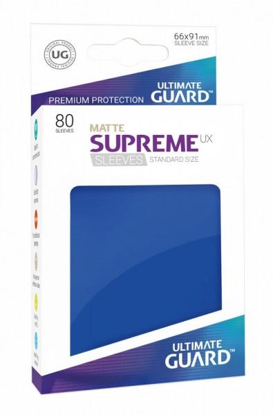 Ultimate Guard Supreme UX Sleeves Standardgröße Matt 80