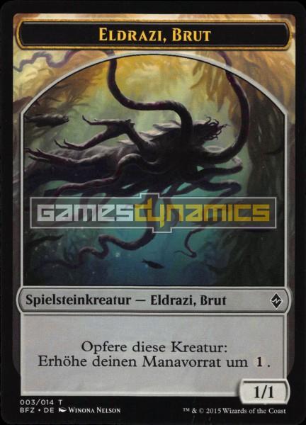 Spielsteinkreatur - Eldrazi, Brut (Version 2)