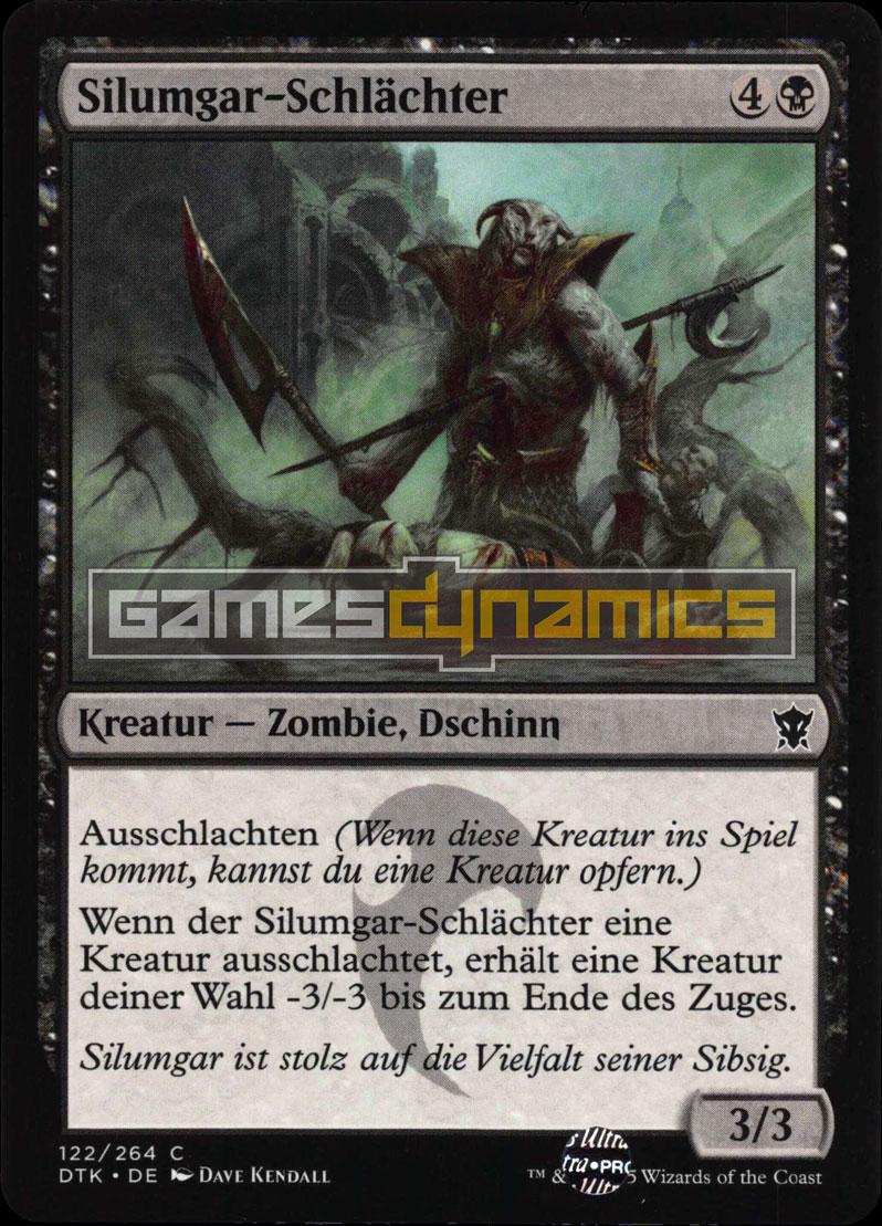 Silumgar Schlächter Drachen Von Tarkir Magic Einzelkarten
