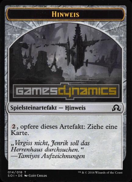 Spielsteinartefakt - Hinweis (Version 4)