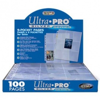 Ultra Pro - 9-Pocket Pages (11 Hole) Display (100 Pages)