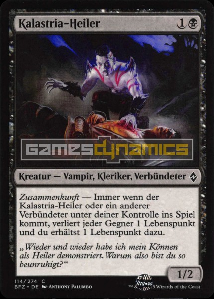 Kalastria-Heiler