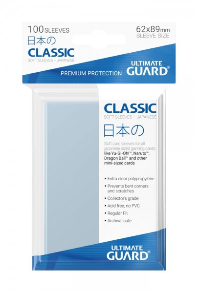 Ultimate Guard Classic Soft Sleeves 100