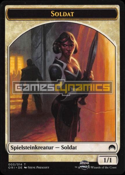 Spielsteinkreatur - Soldat