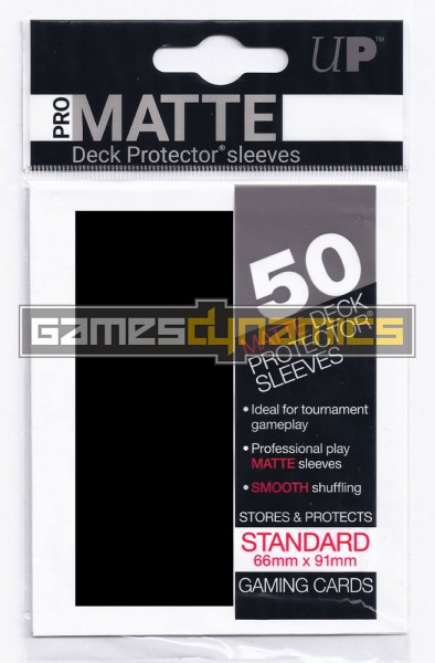 Ultra Pro - Standard Sleeves - Pro-Matte - Non Glare - 50 Sleeves