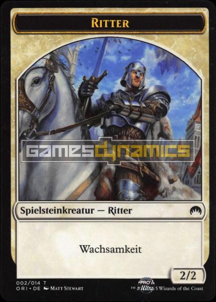 Spielsteinkreatur - Ritter