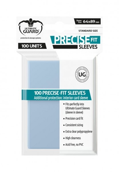 Ultimate Guard Precise-Fit Sleeves Transparent (100)