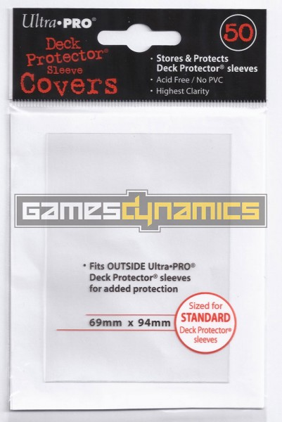 Ultra Pro - Deck Protector Sleeve Covers (50 Sleeves)