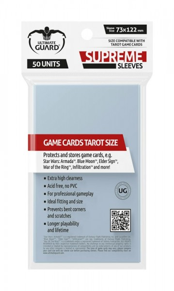 Ultimate Guard Supreme Sleeves für Tarot-Karten (50)