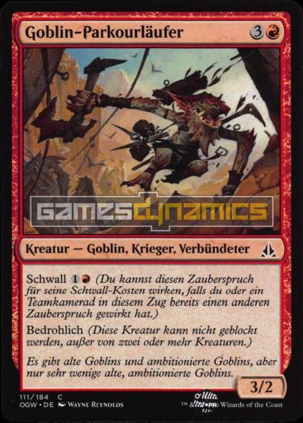 Goblin-Parkourläufer