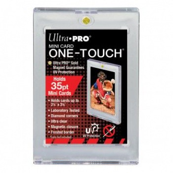 Ultra Pro - Mini Card UV One-Touch Magnetic Holder