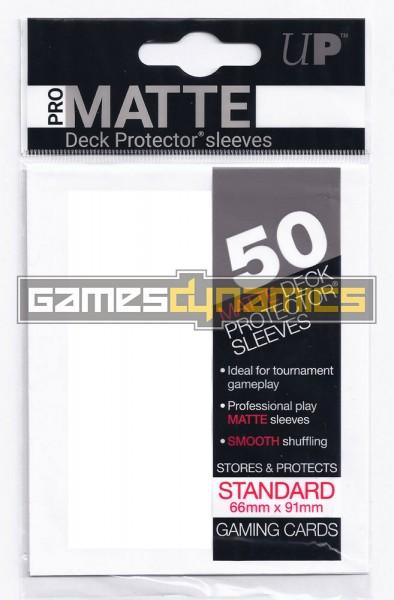 Ultra Pro - Standard Sleeves - Pro-Matte - Non Glare - 50 Sleeves