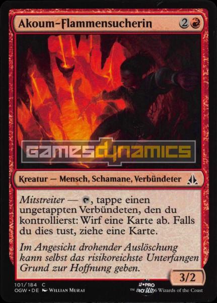 Akoum-Flammensucherin