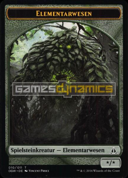 Spielsteinkreatur - Elementarwesen (Version 2)