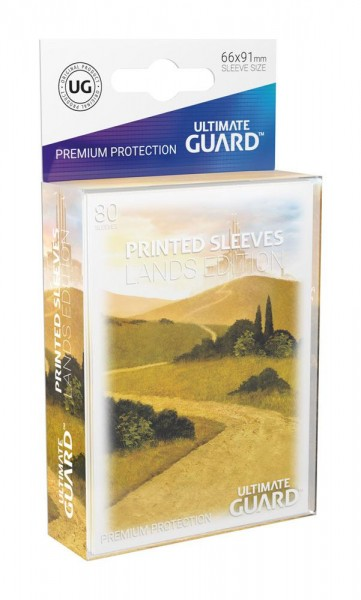 Ultimate Guard Printed Sleeves Standardgröße Lands Edition 80