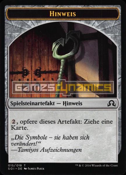 Spielsteinartefakt - Hinweis (Version 5)