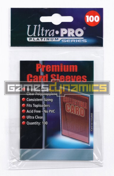 Ultra Pro - Standard Sleeves - Soft Sleeves 100
