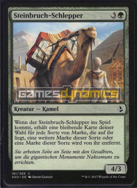 Steinbruch-Schlepper