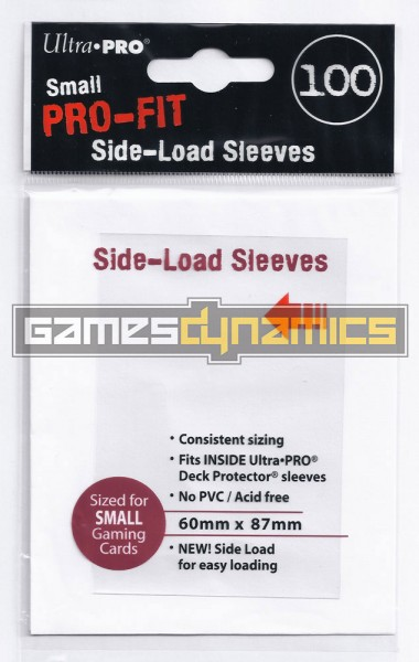 Ultra Pro - Small Sleeves - PRO-Fit Side Load (100 Sleeves)