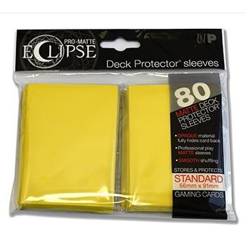 Ultra Pro - Standard Sleeves - PRO-Matte Eclipse - 80 Sleeves