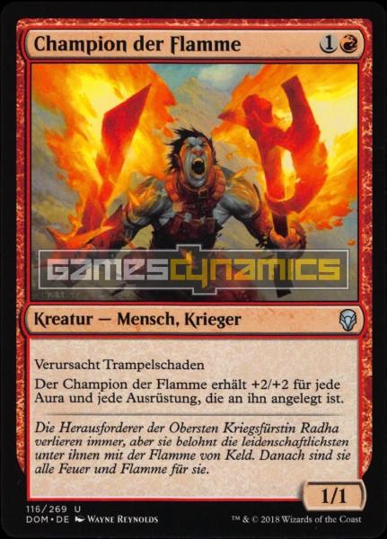 Champion der Flamme
