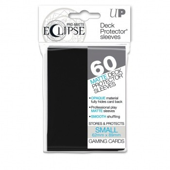 Ultra Pro - Small Sleeves - PRO-Matte Eclipse - 60 Sleeves