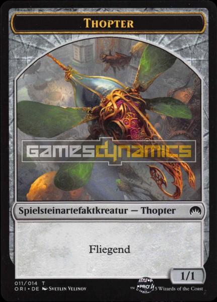 Spielsteinartefaktkreatur - Thopter (Version 2)