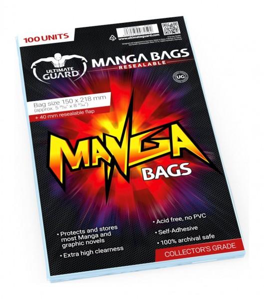 Ultimate Guard Manga Bags wiederverschließbar (100)
