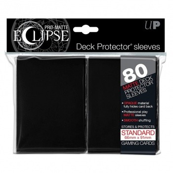 Ultra Pro - Standard Sleeves - PRO-Matte Eclipse - 80 Sleeves