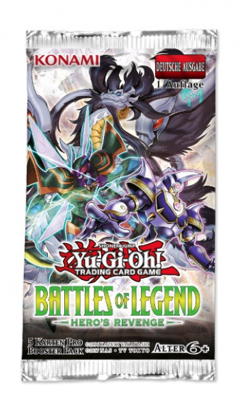 Battles of Legend Hero's Revenge Booster
