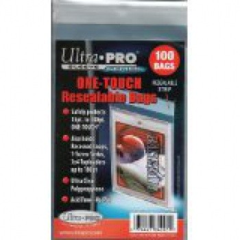 Ultra Pro - Standard Sleeves - One Touch Resealable Bags (100 Bags)