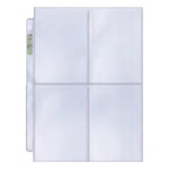 Ultra Pro - Platinum 4-Pocket Pages Display (100 Pages)