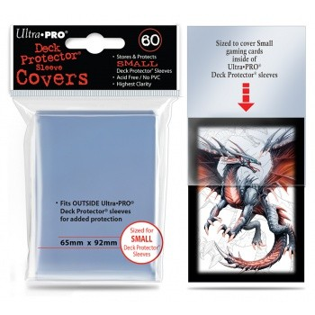 Ultra Pro - Small Deck Protector Sleeve Covers - (60 Sleeves)