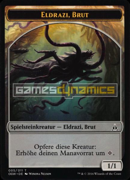 Spielsteinkreatur - Eldrazi, Brut (Version 5)