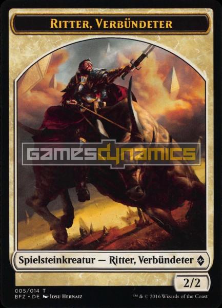 Spielsteinkreatur - Ritter, Verbündeter