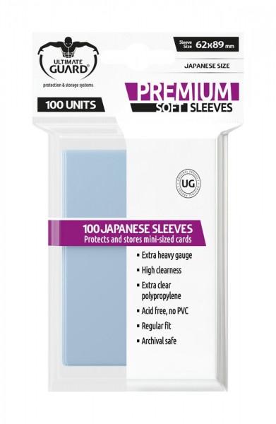 Ultimate Guard Premium Soft Sleeves Transparent 100