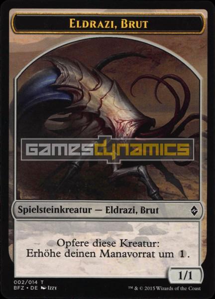 Spielsteinkreatur - Eldrazi, Brut (Version 1)