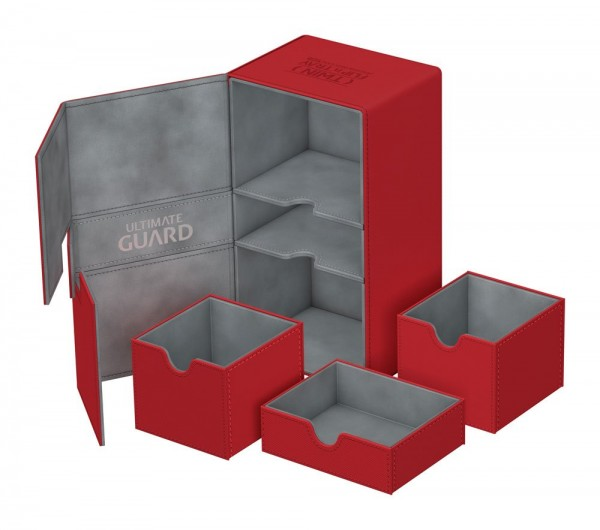 Ultimate Guard Twin Flip´n´Tray Deck Case 200+ Standardgröße XenoSkin