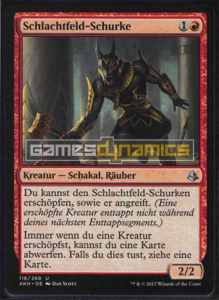 Schlachtfeld-Schurke